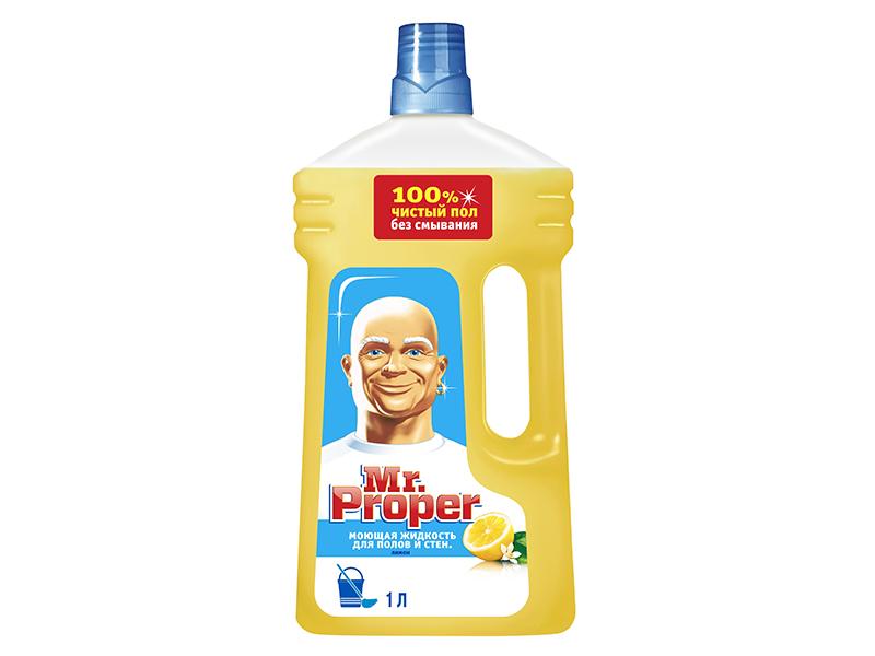 Засіб миючий для прибирання Mr.Proper Універсал 1000мл, лимон
