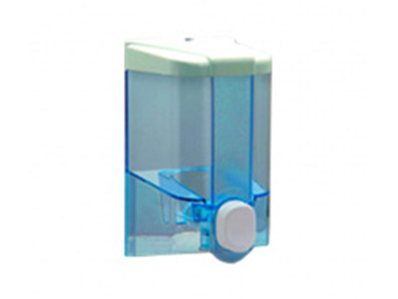 Дозатор рідкого мила пластиковий 0.5л Vialli S.2t, прозорий