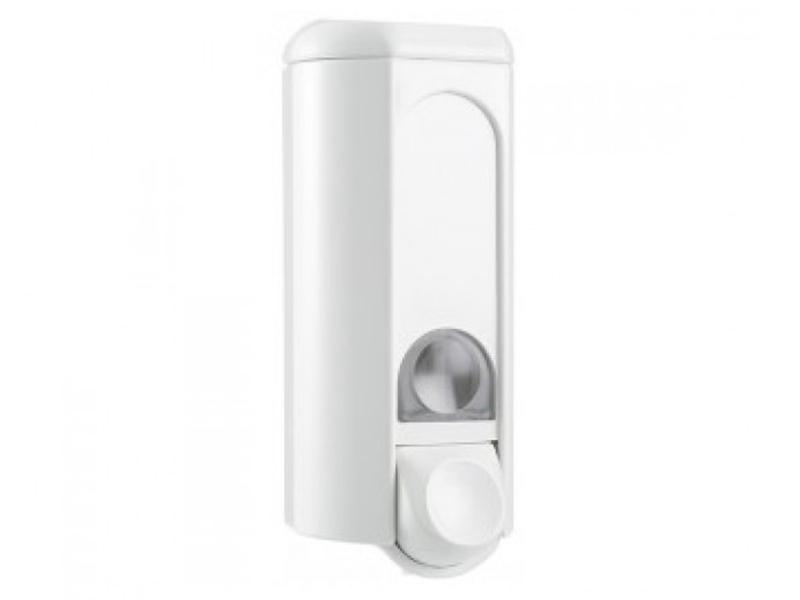 Дозатор рідкого мила пластиковий 0.8л Mar Plast A56211WIN, білий
