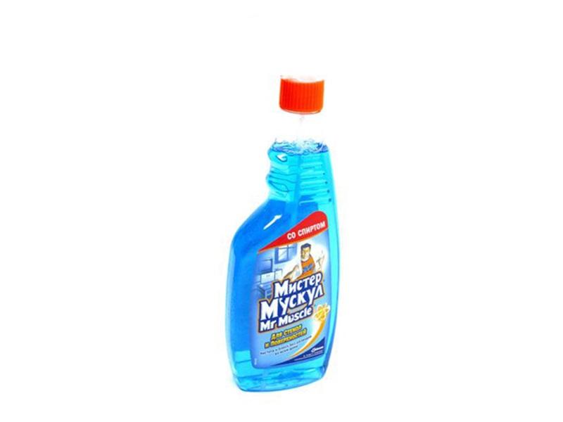Засіб для миття скла, інш.поверхонь Mr.Muscle 500мл, змінний
