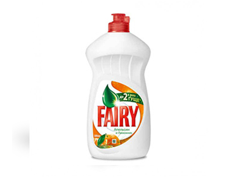 Засіб для миття посуди FAIRY 500мл, апельсин і лимонник