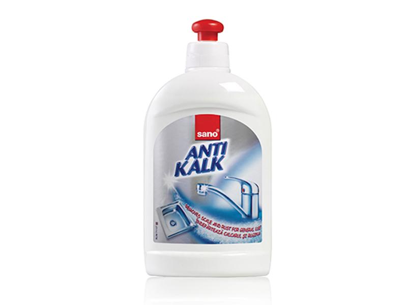 Засіб проти іржі, вапняного нальоту Sano Antikalk 1л, ковпачок-дозатор