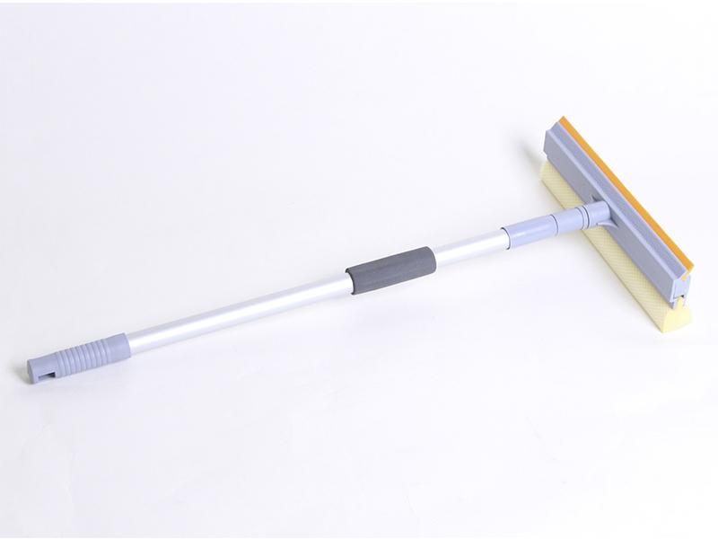 Скломийка 25см з алюмінієвою телескопічною ручкою 60-98см