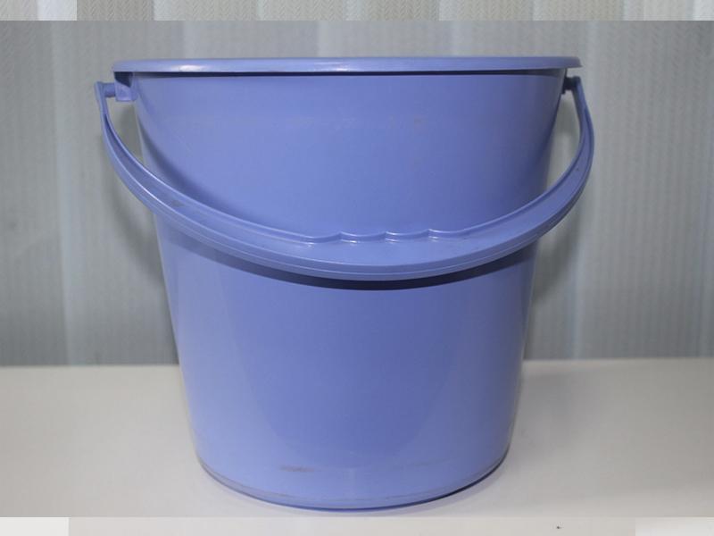 Відро пластикове кругле 18л харчове без кришки, асорті