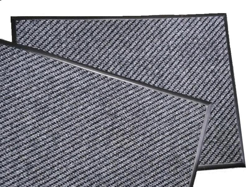 Килимок ворсовий волого-брудозахисний 1 кв.м. Хьюстон (Центавр), на гумовій основі