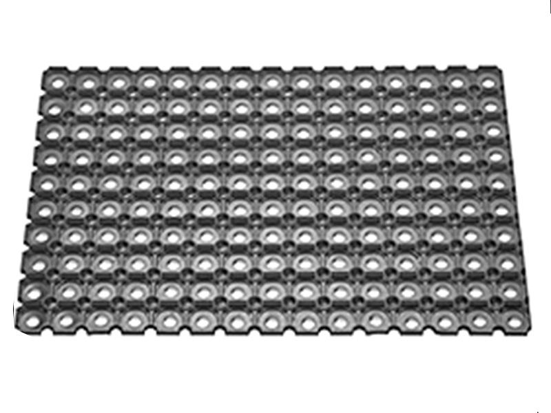 """Килимок гумовий з отворами """"Соти"""" (26мм) 400х600мм, д/інтенсивн.експл."""