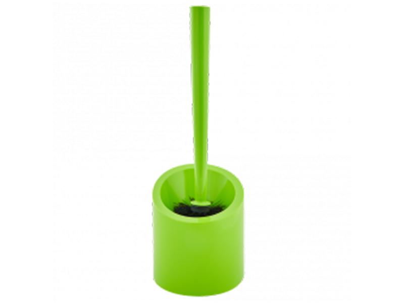 Щітка для унітазу з підставкою Aleana пластикова, салатова